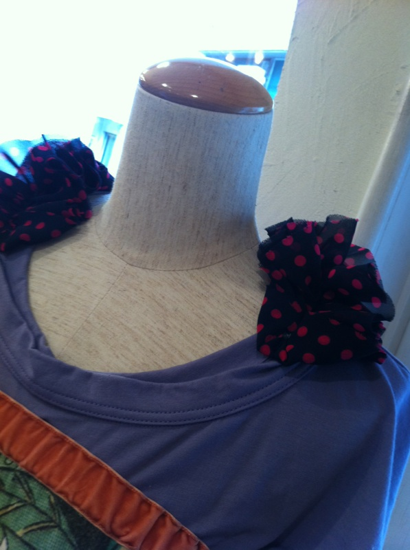 パープル衿部分