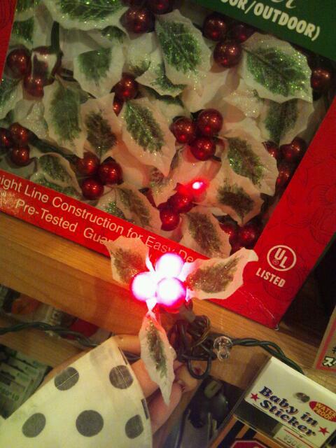 広島の雑貨屋さん クリスマスライト